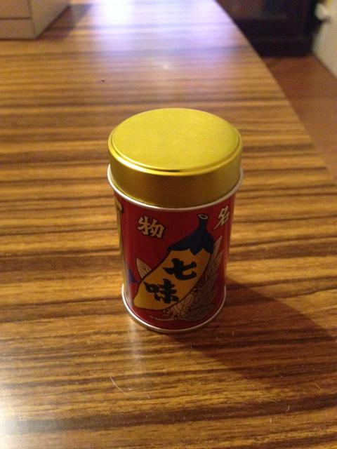八幡屋磯五郎の七味唐辛子