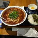 五反田激辛ランチ:西安飯荘の麻辣(マーラー)刀削麺で汗だくだ