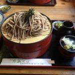 外山そば@岩手県薮川でそば本来の味とおばちゃんとの触れ合いを楽しむ
