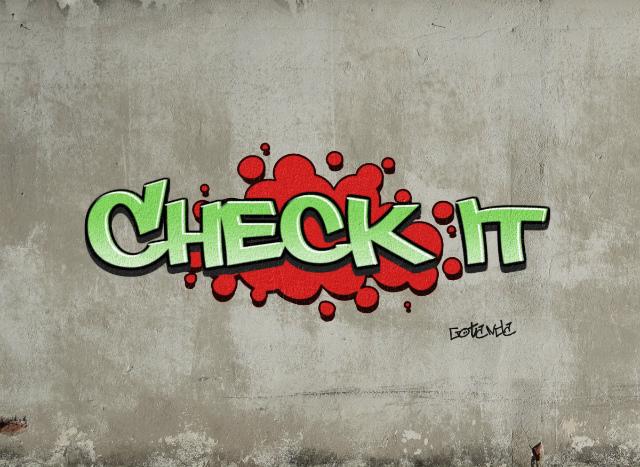 check it