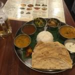 御徒町のアーンドラ・キッチンのミールスで南インドにトリップ!