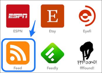 IFTTT RSS