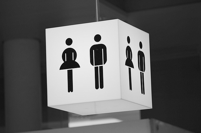 トイレ看板