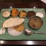 大森のケララの風Ⅱで初めて知った、南インドランチミールスの正しい食べ方