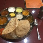 東池袋の南インド料理 A-RAJ でいただく辛さのメリハリが効いたミールス
