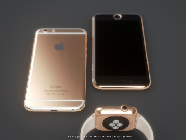 iPhone 6s rose color1