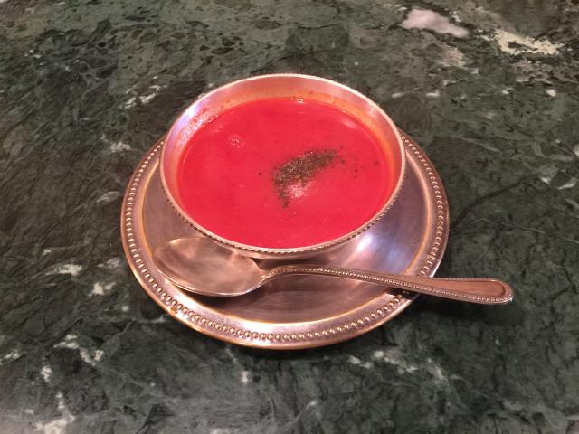 ダルマサーガラトマトスープ