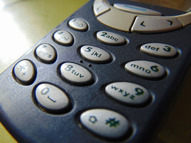 昔の携帯電話