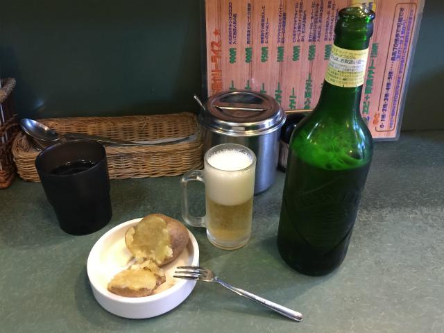 エチオピア高田馬場ビールとじゃがいも