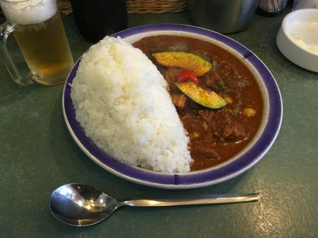 エチオピア高田馬場野菜カレー70倍